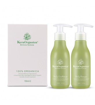 Kera Organica Sets (Daily Shampoo + Daily Conditioner)