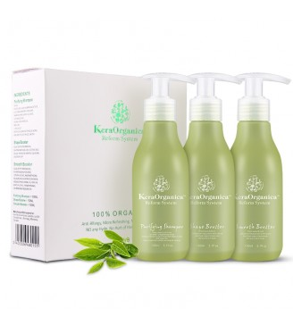 Kera Organica Sets (Purifying Shampoo + Shape + Smooth) 150ml